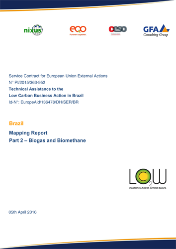 Mapping Report_Chapter 2_Biogas_Biomethane docx